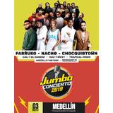 Boletas Jumbo Concierto 2019 Medellin Originales