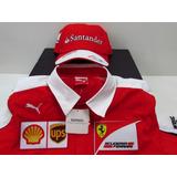 522add465c Conjunto Boner E Camisa Santander no Mercado Livre Brasil