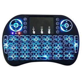 Mini Teclado Wireless Sem Fio Keyboard Com Backlight