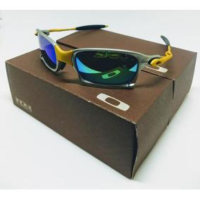 Oakley Juliet 24k Azul Original De Sol - Óculos De Sol Oakley Juliet ... 87570ba610