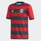 Camisa Flamengo Infantil Rubro-negra 2018 Cf3464