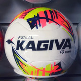 Combo 10 Bolas De Futsal Kagiva F5 Pro Brasil Bola - Futebol no ... 0f381417c93fd
