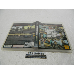 Gta Liberty City Original Caixa Manual Midia Fisica Ps3 Loja