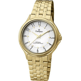 c420508b41d Champion Dourado Com Numero Romanos - Relógios De Pulso no Mercado ...