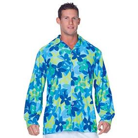 fa2a4296c5 Camisa Estampado Flor Hombre - Camisas de Hombre en Mercado Libre ...