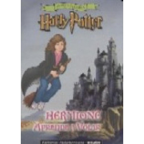 Harry Potter - Hermione Aprende A Volar - Copia Y Colorea -