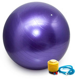 Bola Pilates Yoga Fitness 65 Cm C  Bomba Abdominal Ginástica fcd7bb2aca730