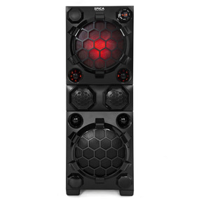 Parlante Potenciado Bluetooth Spica Sp Pp761 Luces