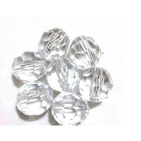 Pedrarias Cristal Facetado Acrílico 500gr - Melhor Preço