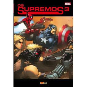 Hq Os Supremos 3 - Marvel - Panini Books