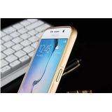 Bumper Alumínio Galaxy S6+película Vidro Frente & Traseira