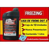 Liga De Freno Dot3 1 Litro Al Mayor Por Caja F1 Freezing