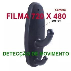 Cabide Filmadora Espião Profissional Com Câmera Pega Esposa