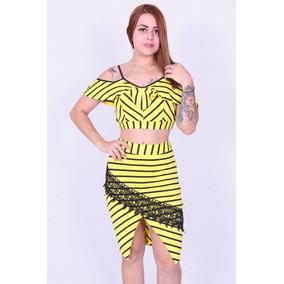 Conjunto Saia Nova Paran 9005 - Asya Fashion