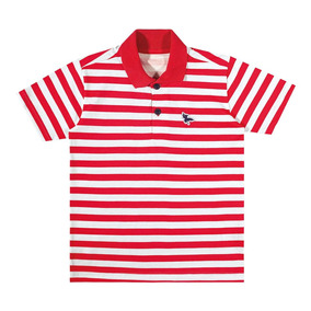 d26f3c91c43b4 Camisa Marisol Polo Play Listrada Menino Vermelho