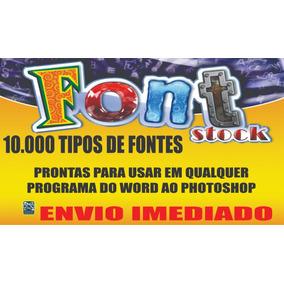 Font Stock Digital - Mais De 10.000 Tipos De Fontes