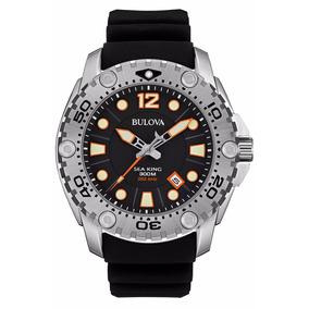 Reloj Bulova 96b228 Sea King Cuarzo Uhf Caucho Acuático 300m