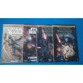 Kit Com 4 Hqs Star Wars = Capa Comum