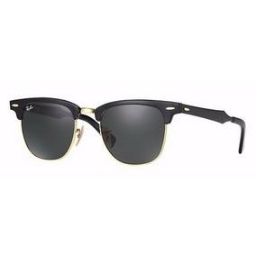 0174338c7e13e Oculos De Sol Ray Ban Clubmaster Aluminum Rb3507 136 n5 - Óculos no ...