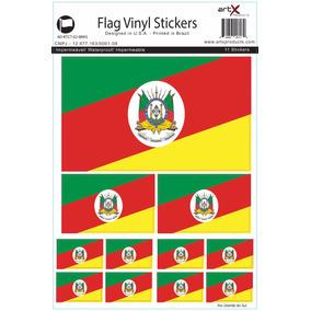 Adesivo Rio Grande Do Sul Sticker C/11 Etiqueta #ct02debrrs