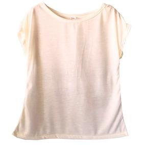 42f99286d Blusa Transparente Branca Camisetas Blusas Manga Longa - Camisetas e ...