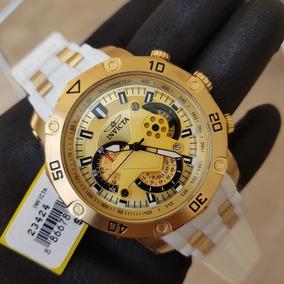 cf09f86dd26 Relogio Invicta Dourado Gigante 80mm - Relógios De Pulso no Mercado ...