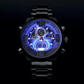 Relógio Masculino Boamigo Original Digital Leds Luxo Barato