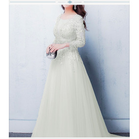 Vestido De Noiva Lila Casamento Longo Debutante Off White