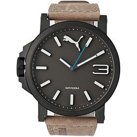 Relógio Puma Ultrasize Masculino Marrom 96239gppmsc4