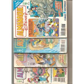 Lote 05 - 04 Almanaques Disney - Conforme Fotos