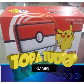 Nintendo New 2ds Xl Pokebola 24jogos Originais Pokemon Ultra