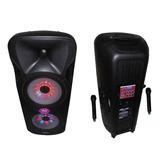 Bafle Potenciado 1500w Gbr Pl800 Power Mp3 2 Vías *9