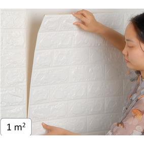 Papel Tapiz 3d Piedra Ladrillo Relieve Adhesivo Textura M2