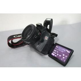 Canon T3i + Lente 50mm
