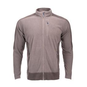 Poleron Hombre Numan Nano-f Jacket Gris Lippi