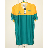 8c8873f96c6 T-shirt Masculina Austrália Team adidas Olimpíadas Rio 2016