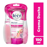 Veet Crema Depilatoria Ducha 150ml Silk&fresh