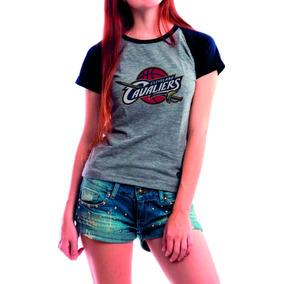 8b6335e4e4e Camiseta Cleveland Cavaliers Feminina Camisetas Feminino - Camisetas ...