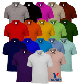 1e4a18c63f Playeras Polo Yazbek Dama Y Caballero-18 Colores Disponibles