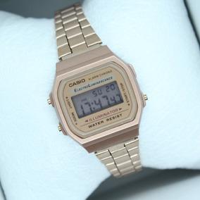 d259ffe0bb05 Reloj Casio Dama Rosa Metalico Vintage - Relojes en Mercado Libre México