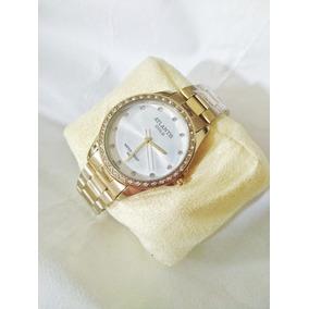 012da540d85 Relogio Atlantis Dourado Fundo Branco - Joias e Relógios no Mercado ...