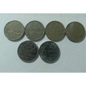 Moeda 50 Centavos 1970 70 Pç 120,00