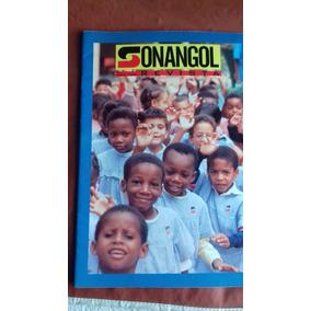 Revista Sonangol - Petróleo De Angola - Importada. Rara.
