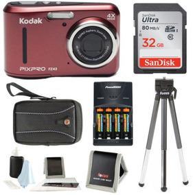 Ambiente Pixpro Kodak Zoom Fz43 (rojo) Con El Paquete De Sdh