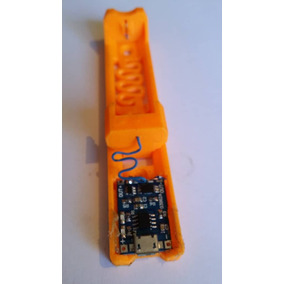 Cargador Pila Batería Para 18650 Con Tp4056 1a 3denis