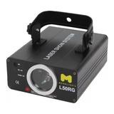 Laser Moon L50rg Rojo Y Verde 160mw Audiorritmico 40 Efectos