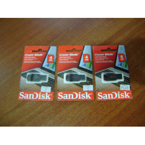Pendrive 4gb Y 8gb Sandisk En Blister Sellado Original