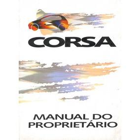 Manual Do Proprietário Gm Corsa 95