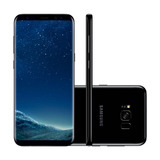 Samsung Galaxy S8+ 6.2in 64gb Câmera 12mp+8mp Preto