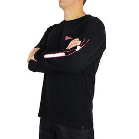 Camiseta Hurley Jjf Nautic Manga Longa Preta 3d13642a7a6